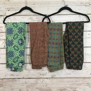 LuLaRoe Pants - Lot of 4 Lularoe leggings